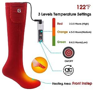 foot warmers