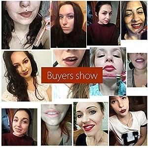 6pcs lipstick