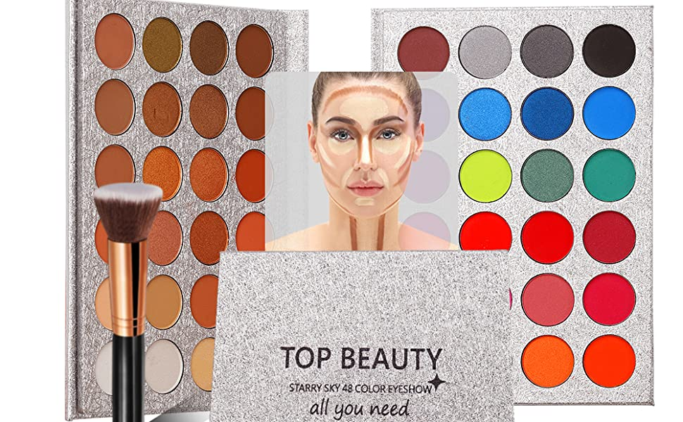 48 color eyeshadow pattle
