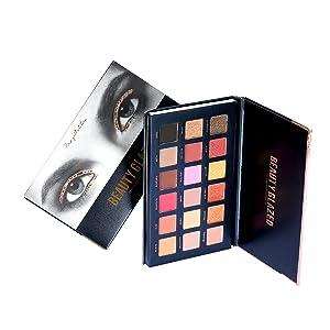 18 color eyeshadow