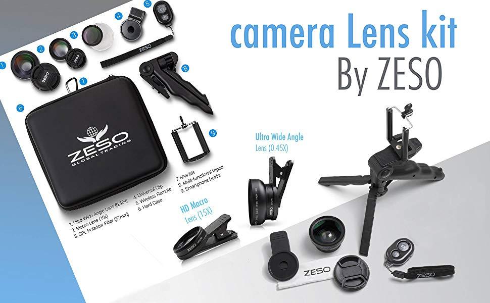 Zeso lens kit