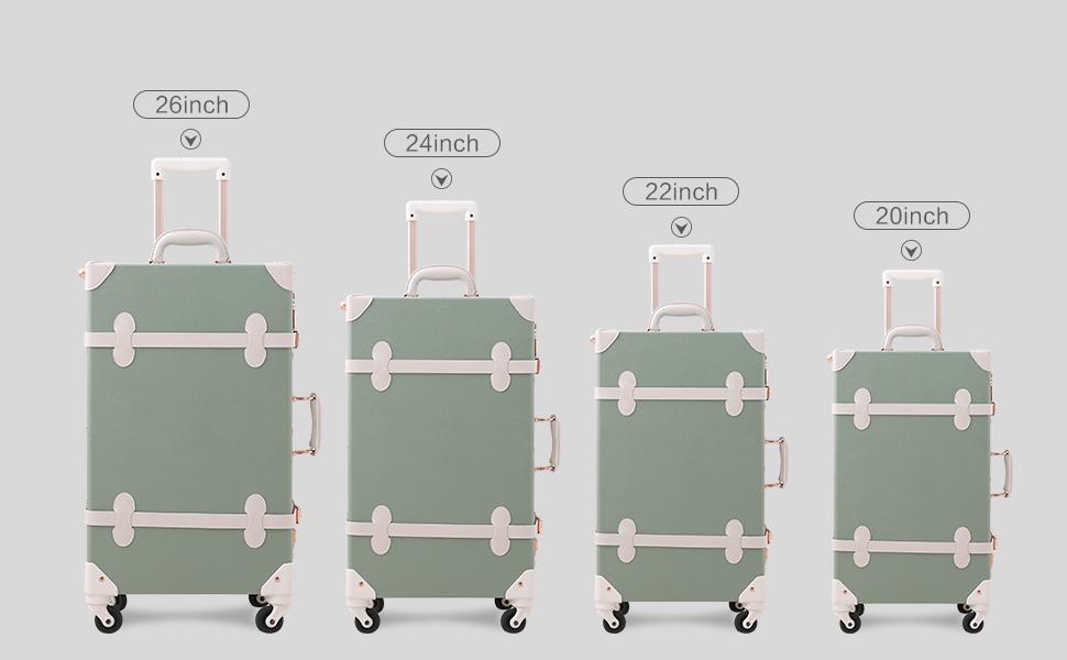 unitravel vintage luggage