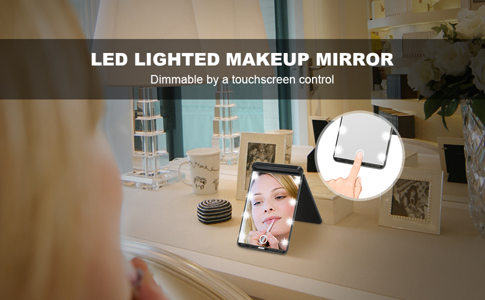 Have You Been Looking For A Led Lighted Travel Mirror For A Long Time Probably This Is The One