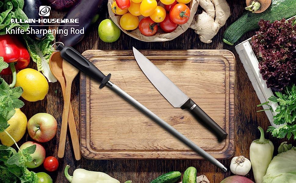 Amazon.com: Mejor cuchillo afilador de acero al carbono ...