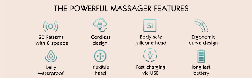 powerful wand massager