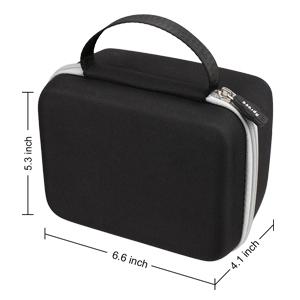 Aproca Hard Travel Storage Case Compatible Polaroid Originals 9003 OneStep 2 Instant Film Camera (Black)