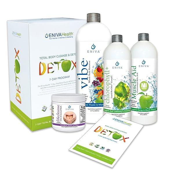 Amazon.com: Detox and Cleanse - Kit de 7 días sin dieta para ...