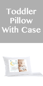 TODDLER PILLOW WITH PILLOWCASES