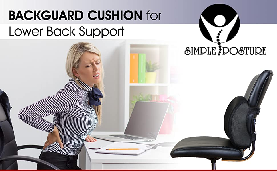 Amazon.com: SimplePosture Lower Back Pain Cushion - Specially ... on