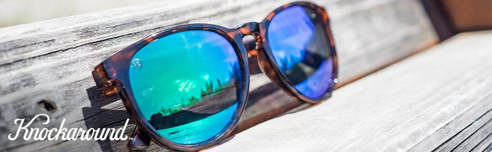 a2fd3618a4 Amazon.com  Knockaround Mai Tais Polarized Sunglasses With Blonde ...