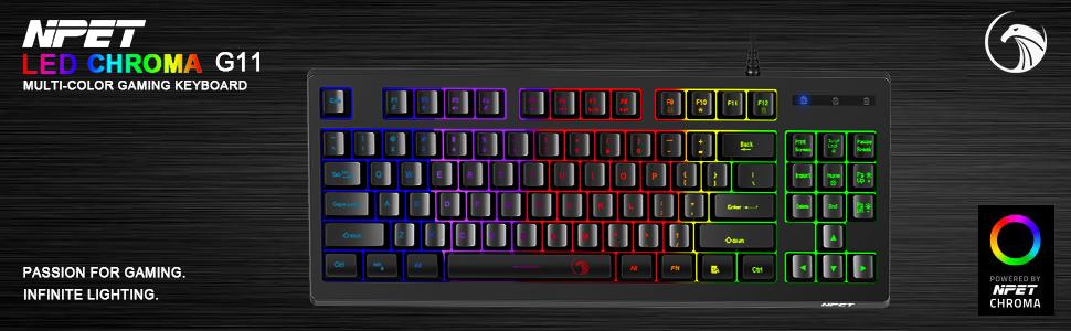 G11 gaming keyboard