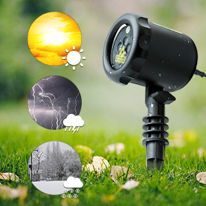 Light Outdoor Amazon mycarbon outdoor laser light projector static christmas ip65 waterproof holiday projection light outdoor with 6 feet long power cord with good range flexibilitywe can use it during snow or rainoperating workwithnaturefo
