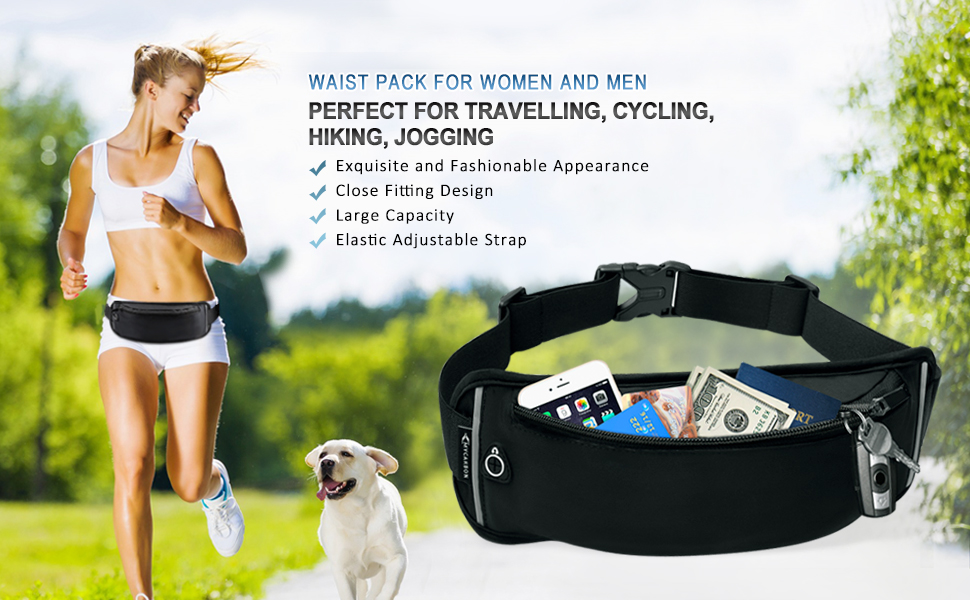 Amazon.com : MYCARBON Fanny Packs for Women and Men Water