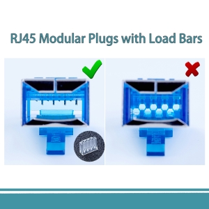 Shielded RJ45 Modular Plug