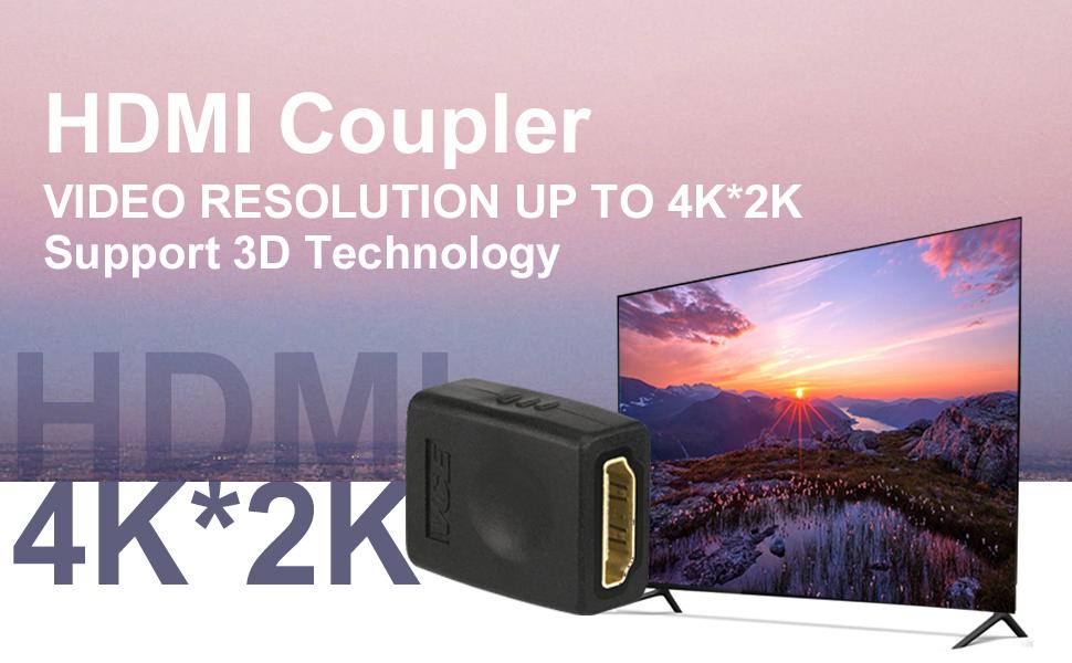 HDMI Female To Female Coupler