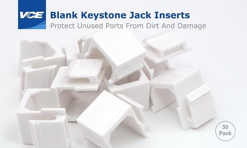 Blank Keystone Jack