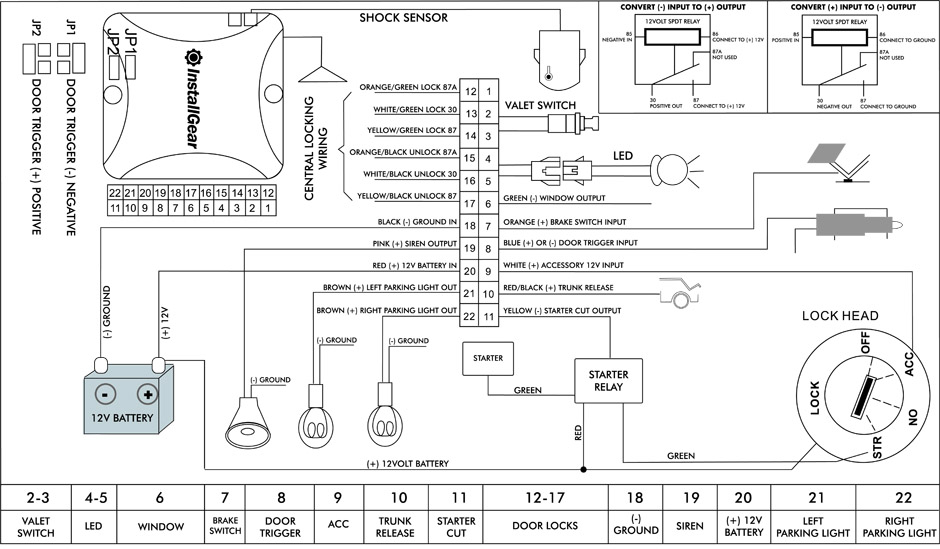 Keyless Entry Wiring Diagram on viper engine bay diagram