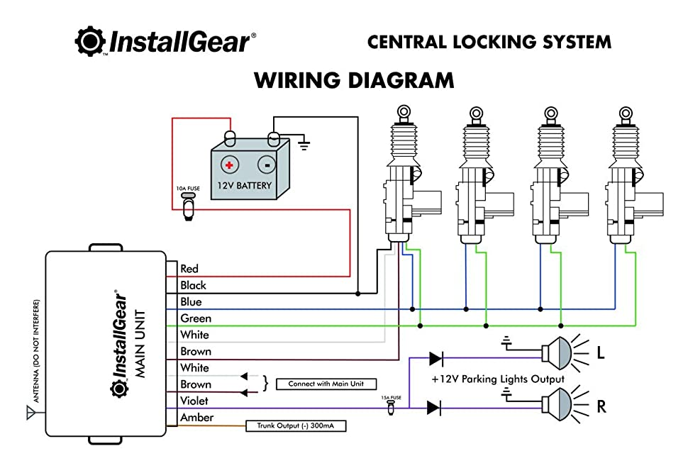 5 wire central locking wiring diagram spy central locking wiring diagram #4
