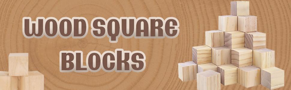 wood square blocks