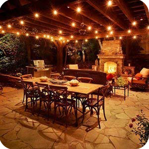 Superieur Outdoor Patio Lights
