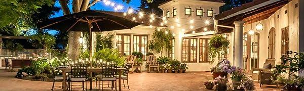 Amazon.com: SUNTHIN - Cadena de luces LED, color blanco ...