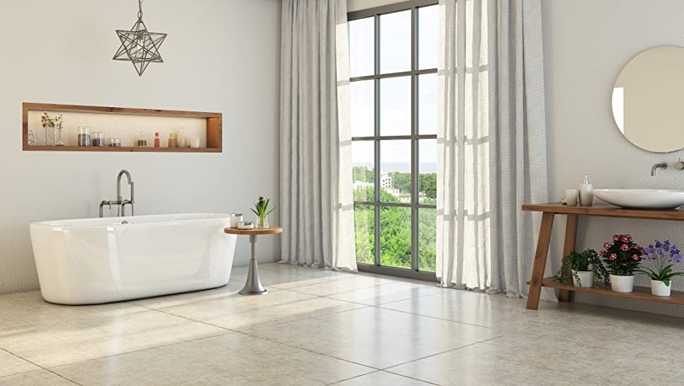 Luxury 67 inch Freestanding Tub with Modern Tub Design in White ...
