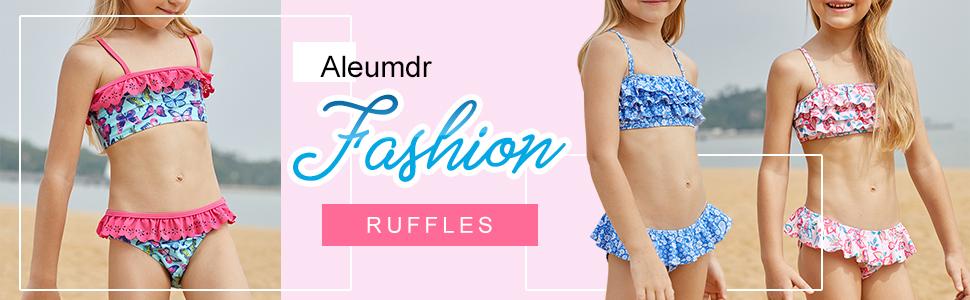 50c606f83f Read more. 7. Halter Neck Blue Stars Print White Kid Girls Bikini Swimwear