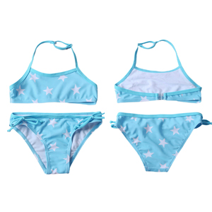 bf8a7bda7c3 Amazon.com: Aleumdr Girls Swimsuit Two Pieces Bikini Set Ruffle ...