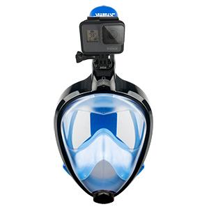 Amazon.com: Seabeast AF90 Máscara de snorkel de cara ...