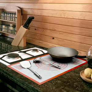 Great for countertop mat and placement mat!