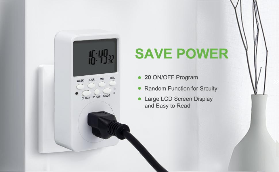outlet timer