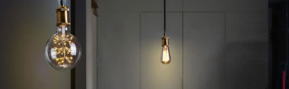 Amazon.com: tomshine bronce Socket de lámpara carcasa de ...