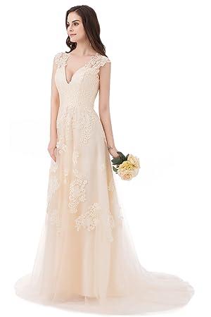 vintage lace wedding prom dress