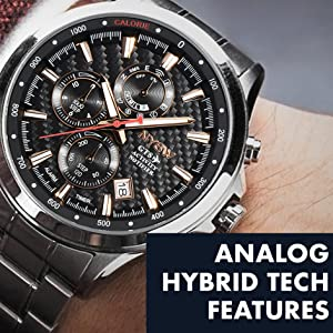 NYSW WATCH-ANALOG HYBRID TECH FEATURES