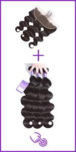 Faddishair Straight Hair Bundles 100% Unprocessed Brazilian Virgin Human Hair Bundles Hair Weave