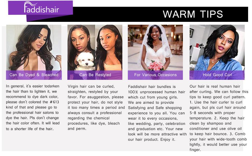 brazilian bundles body wave 3 bundles 100% unprocessed virign human hair bundles faddishair
