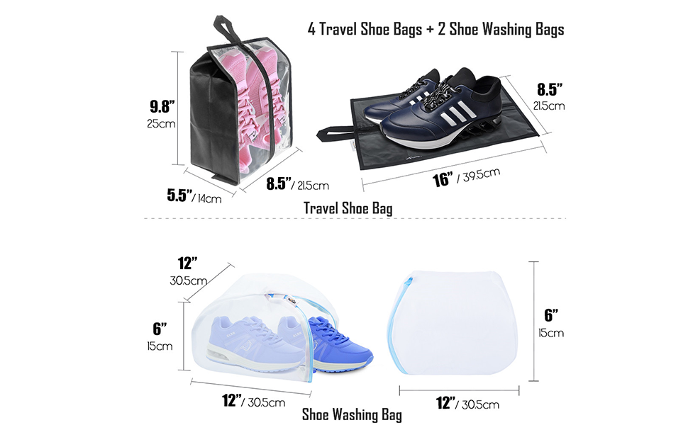 shoes washing bag