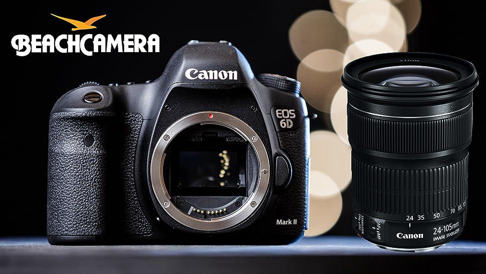 Amazon.com: Canon EOS 6D Mark II 26.2MP Full-Frame Digital SLR ...
