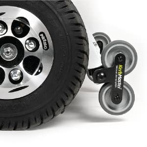 Bumps and curbs can represent a considerable obstacle to scooter users. Only the Quingo 5-wheel system features the capability to ascend and descend these ...