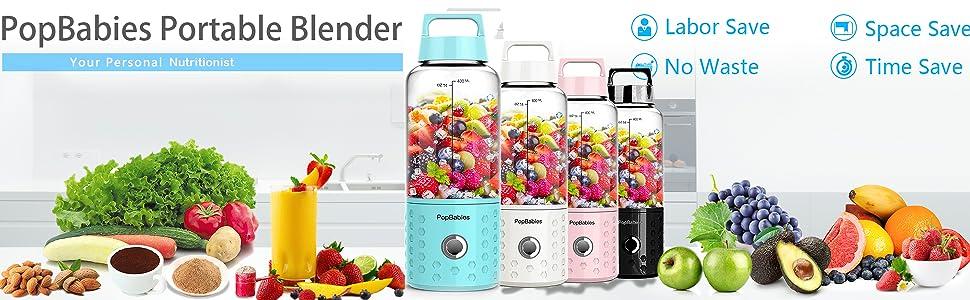 portable blender personal blender mini blender usb blender travel blender for shakes and smoothies