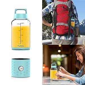 Portable blender personal blender blender for shakes and smoothies blender bottle usb blender