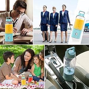 portable blender for shakes small blender blender for smoothies Blendjet Ninja Hamliton Obley Kascoo