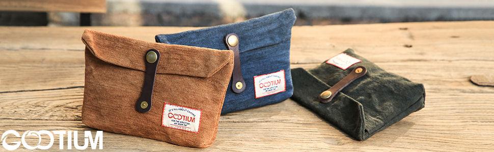 Amazon.com: Gootium Vintage embrague bolsa – Accesorio ...