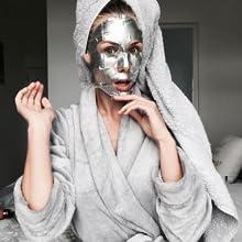 Innovation face mask foil cutting edge technology pore clear fast Korea product range shiny eyes bag