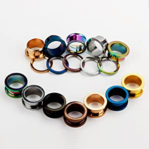 Stainless Steel Screw Fit Tunnels