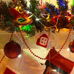 Christmas decoration hooks