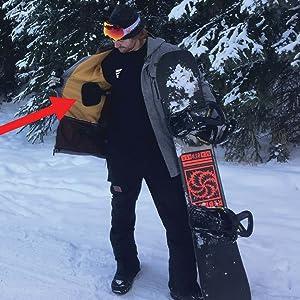 temperature control outdoors transform athlete nike north face eddie bauer Columbia burton