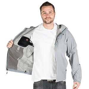universal versatile coat jacket parka down travel leather clothes gear outerwear vest lining fleece