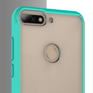 Amazon.com: Funda transparente para Huawei Y7 Prime 2018 ...