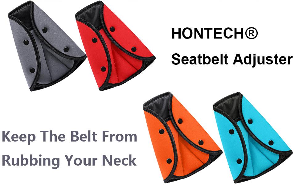 Amazon.com: Cinturón de Seguridad Ajustador, hontech de 2 ...